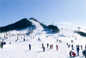 青岛藏马山滑雪场